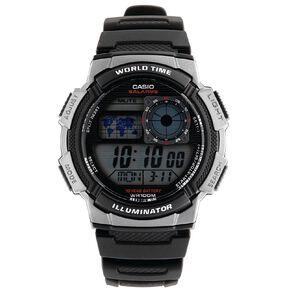 Casio Digital World Time Watch AE-1000W-1BV