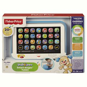 Fisher-Price Laugh & Learn Smart Tablet Coloured Assorted