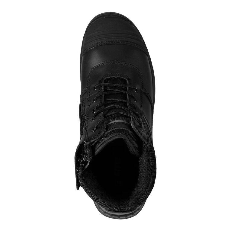 Rivet Octave Work Boots, Black, hi-res