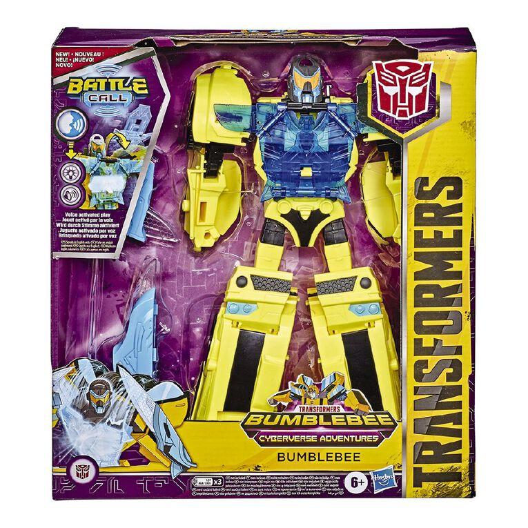 Transformers Cyberverse Battle Call Officer Class Assorted, , hi-res
