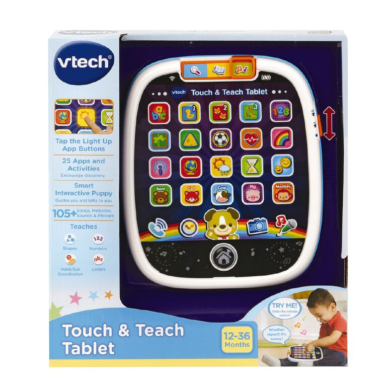 Vtech Touch and Teach Tablet, , hi-res