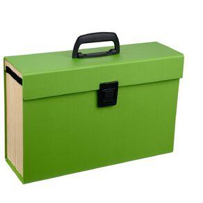 WS Concertina File 19 Pocket Green