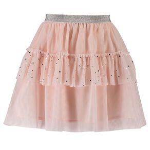 Young Original Tiered Sequin Skirt
