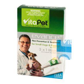 Vitapet Evance Dog Flea Treatment Under 4kg