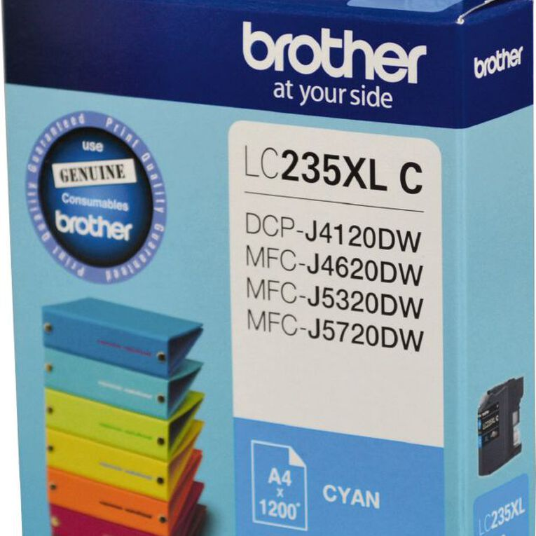 Brother Ink LC235XL Cyan (1200 Pages), , hi-res