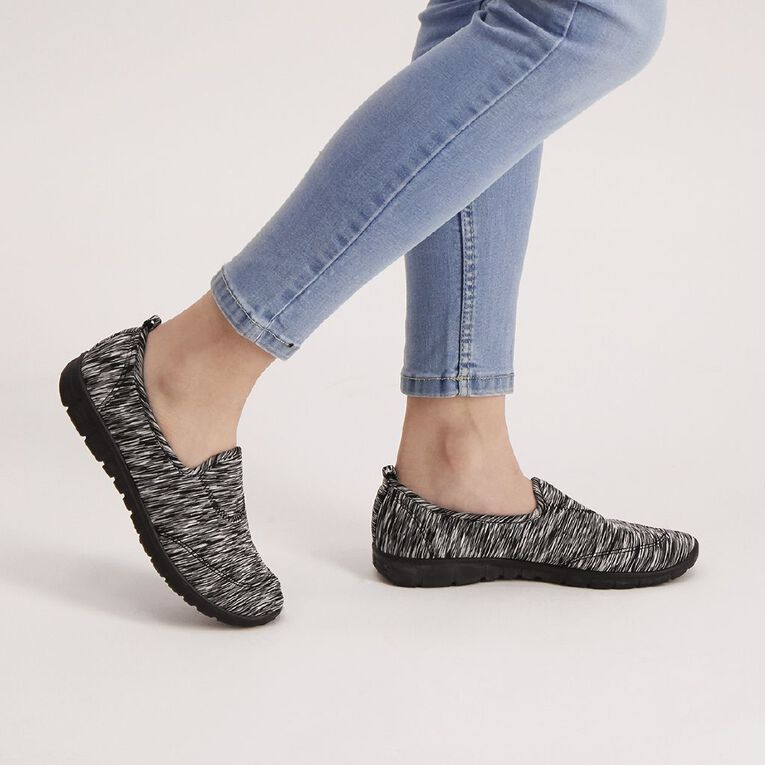 H&H Journey Shoes, Black/White S21 MARL, hi-res