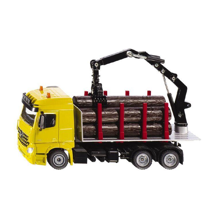 Siku 1:50 Mercedes Zetros Logging Truck, , hi-res