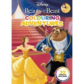 Beauty and the Beast Colouring Adventures