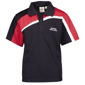Schooltex Darfield Short Sleeve Polo with Embroidery
