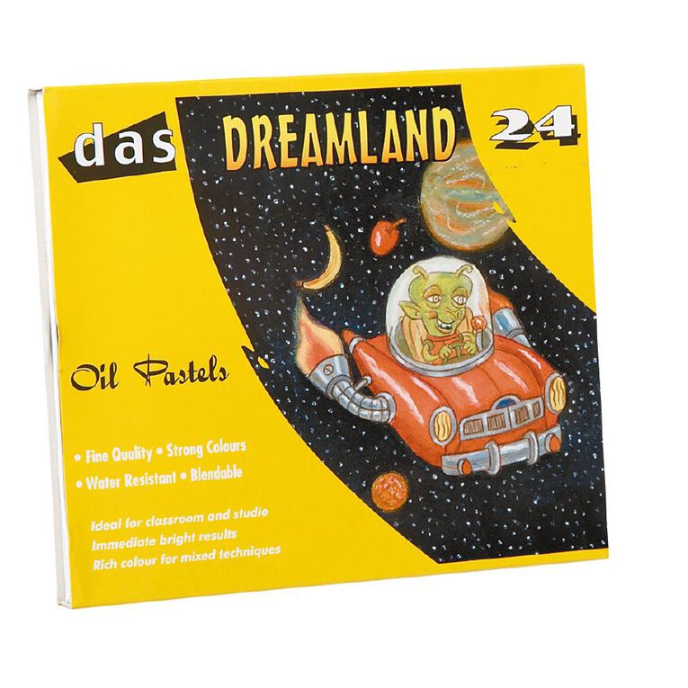 DAS Dreamland Oil Pastels 24 Pack, , hi-res