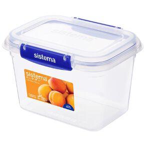Sistema Klip It Plus Rectangular Container Assorted 1.49L