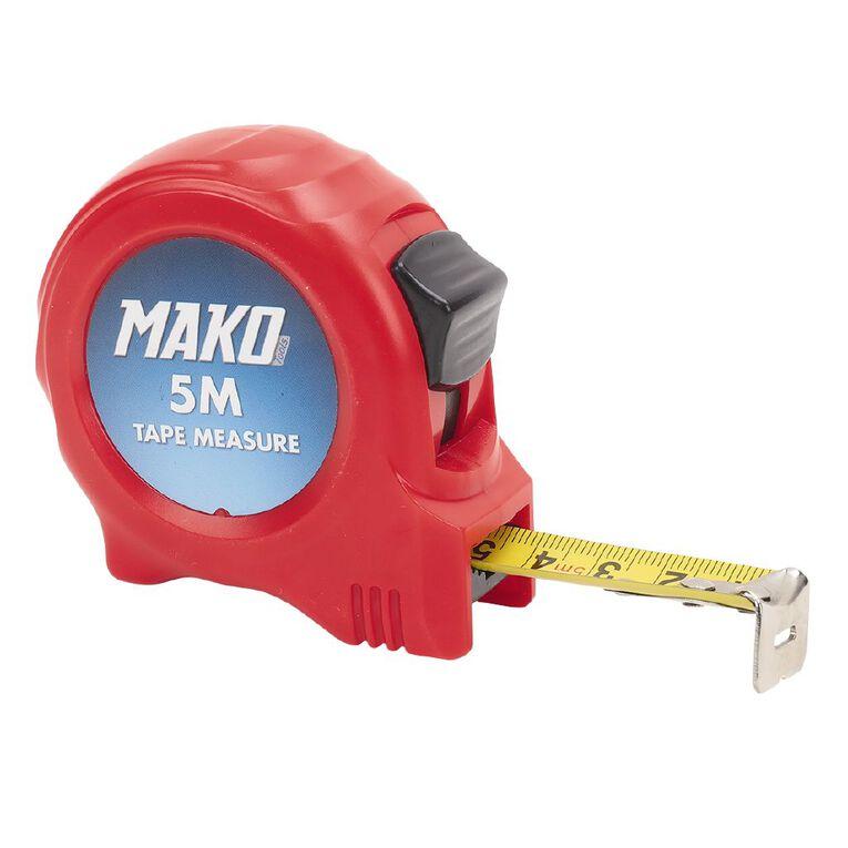 Mako Tape Measure 5m, , hi-res