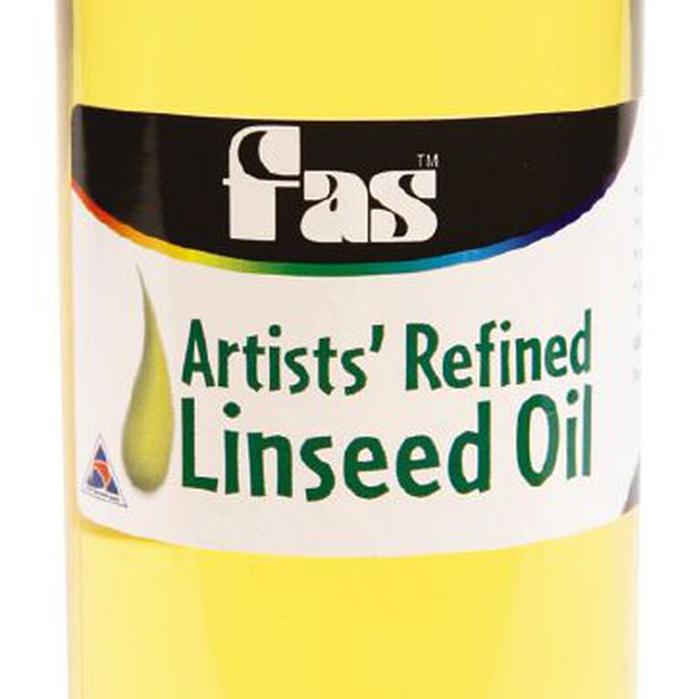 FAS Linseed Oil Clear 250ml, , hi-res