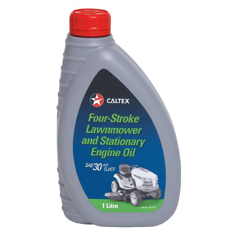 Caltex 4 Stroke Lawn Mower Oil 4T 1L, , hi-res