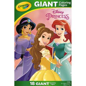 Crayola Giant Coloring Pages Disney Princess