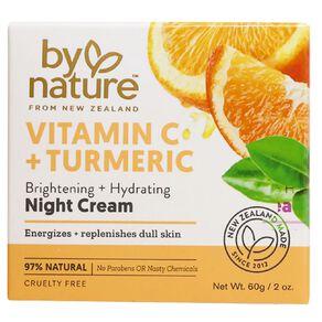 By Nature Vitamin C and Tumeric Night Cream 60g