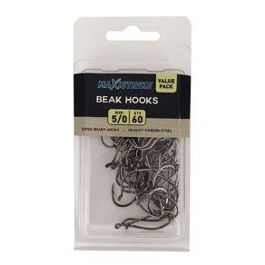 Maxistrike 5/0 Beak Hook Value Pack (60 per pack)