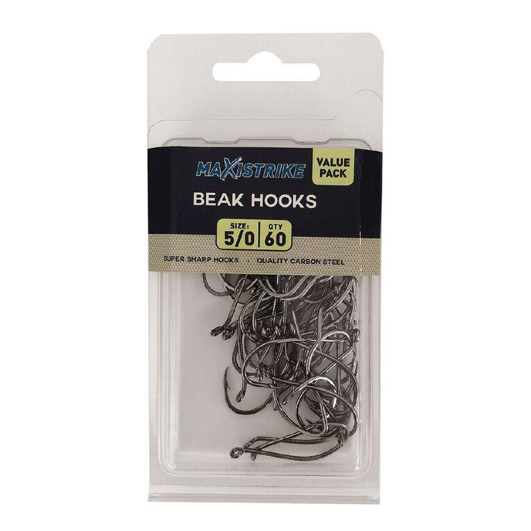 Maxistrike 5/0 Beak Hook Value Pack (60 per pack), , hi-res