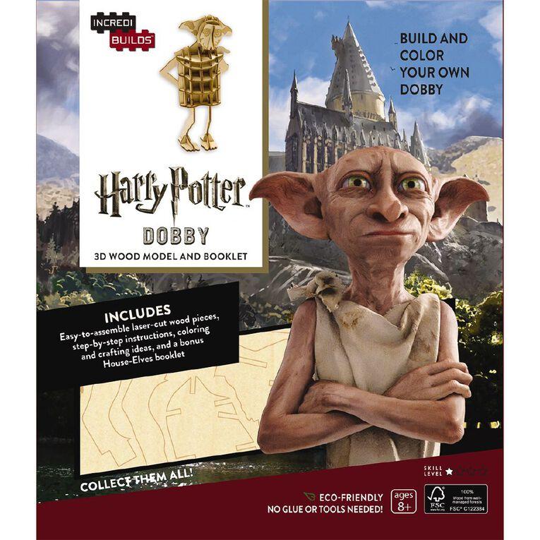 Harry Potter Incredibuilds Dobby 3D Wooden Model, , hi-res