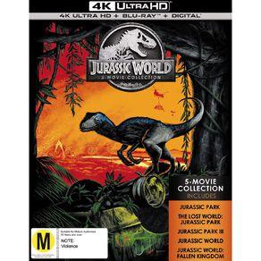 Jurassic 5 Movie Pack 4K Blu-ray 5Disc