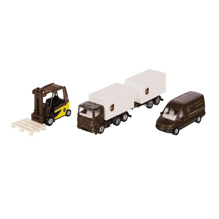 Siku 4-Piece UPS Logistics Set, , hi-res