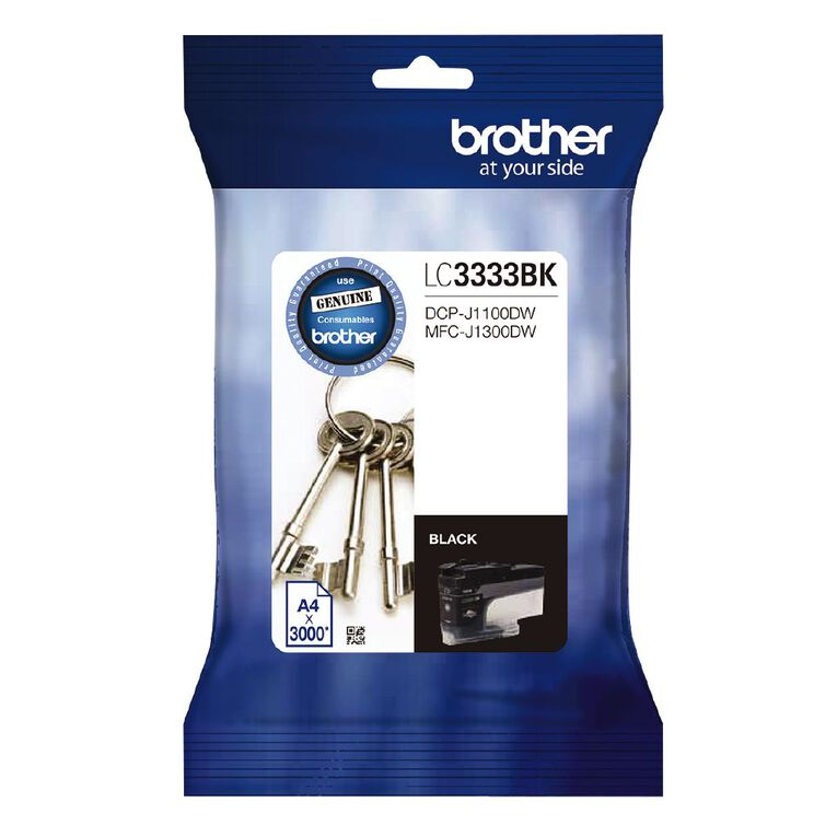Brother Ink LC3333 Black (3000 Pages), , hi-res