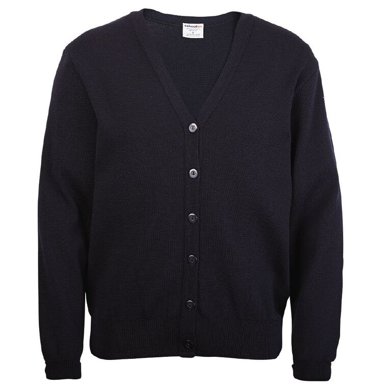 Schooltex Girls' Cardigan, Midnight/Navy, hi-res image number null