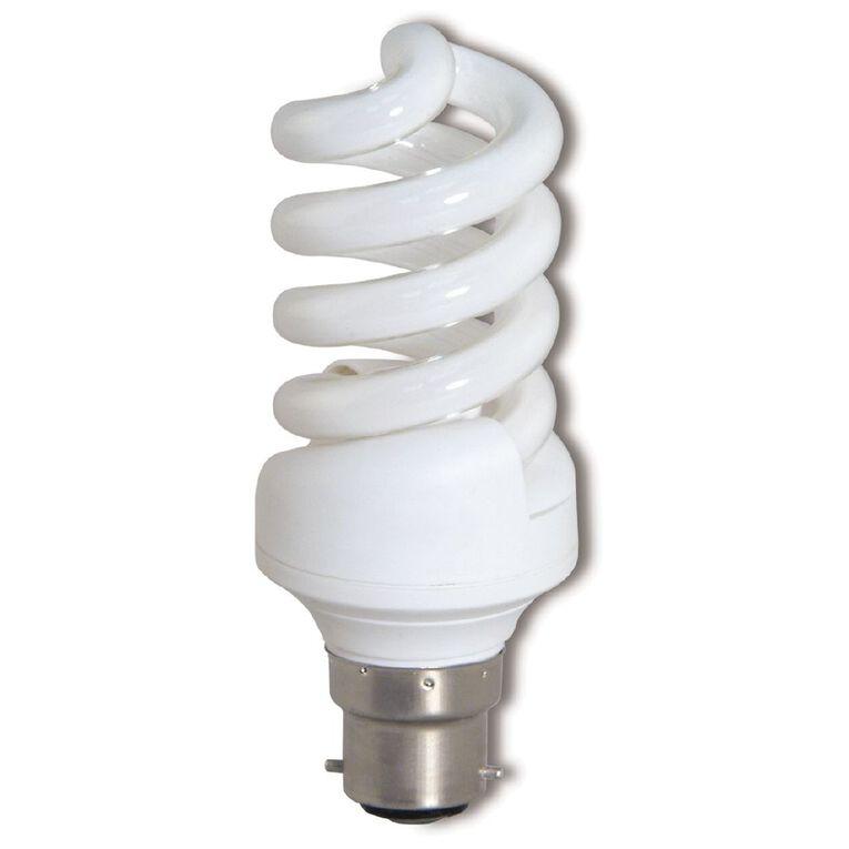 Edapt CFL Mini Energy Saving B24 Light Bulb 20w, , hi-res