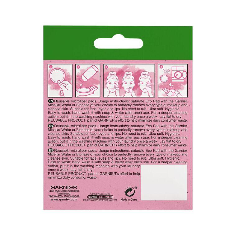 Garnier Micellar Cleansing Eco Pads 3 Pack, , hi-res