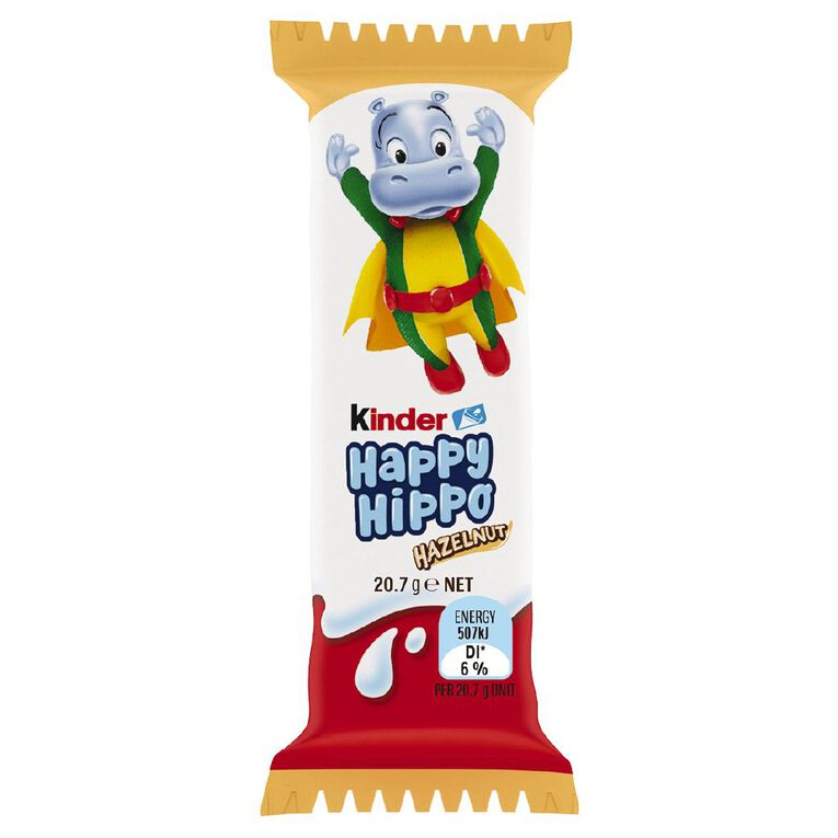 Kinder Happy Hippo Hazelnut 21g, , hi-res