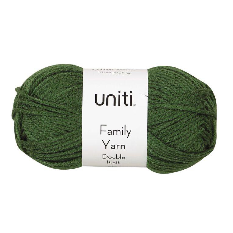 Uniti Yarn Family Double Knit Green 50g, , hi-res