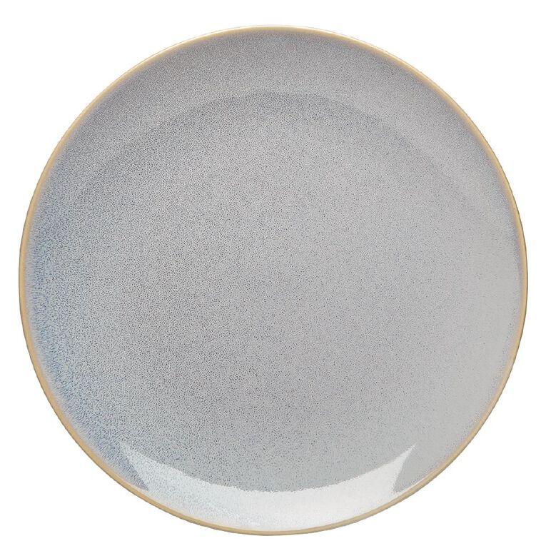 Living & Co Dune Dinner Plate Grey, , hi-res