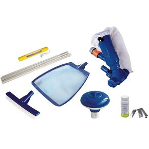 Kokido Pool Start up Kit For No or Low Auction Pumps 6 Piece