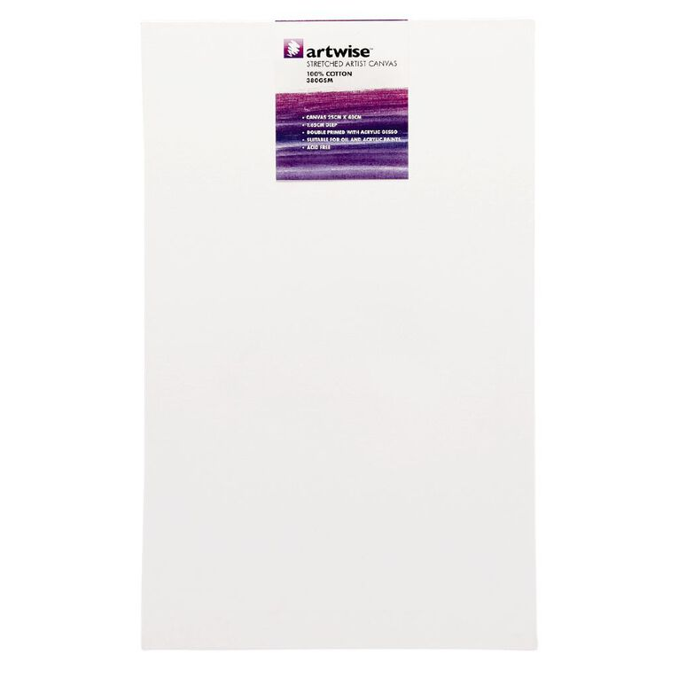 Uniti Blank Canvas 280gsm (10in x 16in) 25cm x 40cm, , hi-res image number null