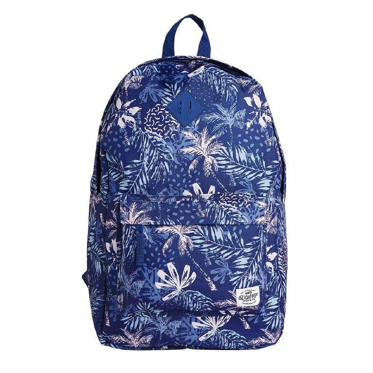 H&H Vintage Backpack, Blue, hi-res