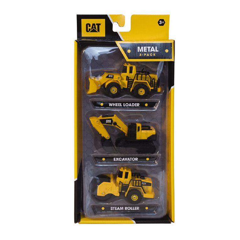 Caterpillar Metal 3 Pack Assorted, , hi-res