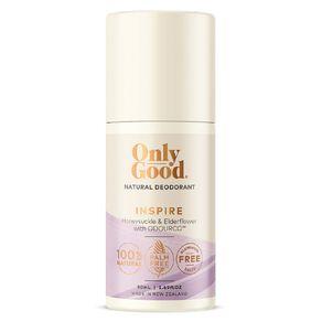 Only Good Roll On Deodorant Inspire Honeysuckle & Elderflower 50ml
