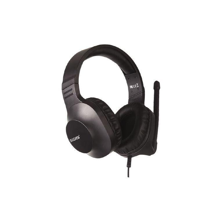 SADES Spirits Gaming Headset Black, , hi-res