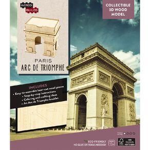 Incredibuilds Arc de Triomphe 3D Wooden Model