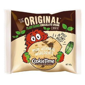 Cookie Time Plant Based Original Chocolate Chunk Cookie 60g
