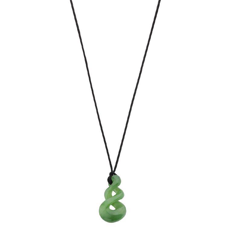 Jade Small Triple Twist Pendant, , hi-res
