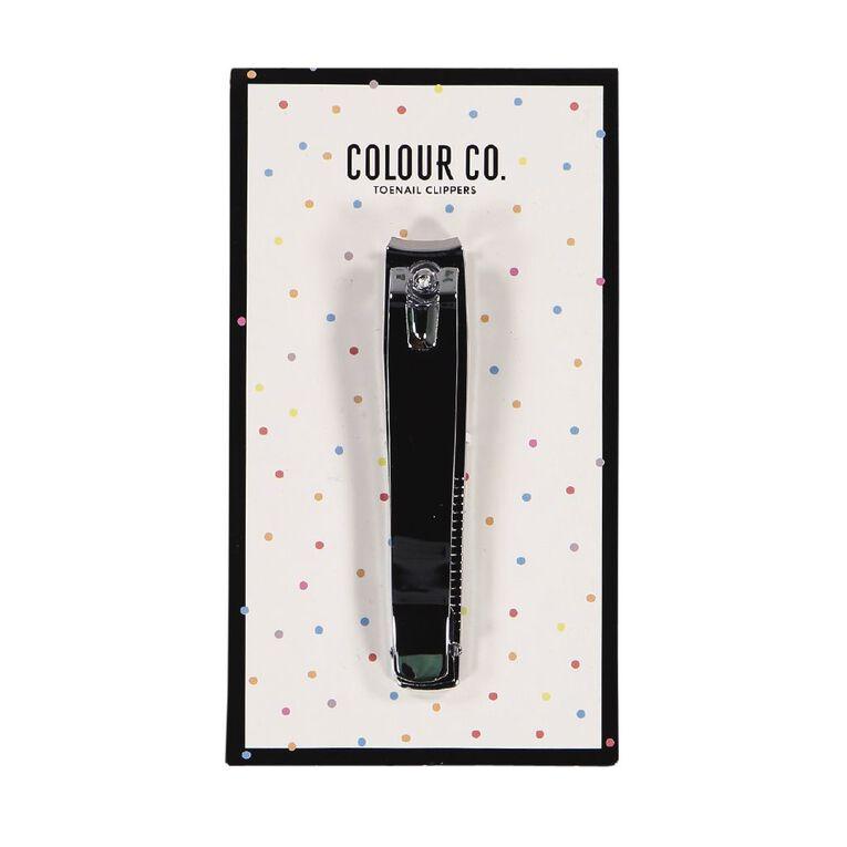 Colour Co. Toe Nail Clippers, , hi-res