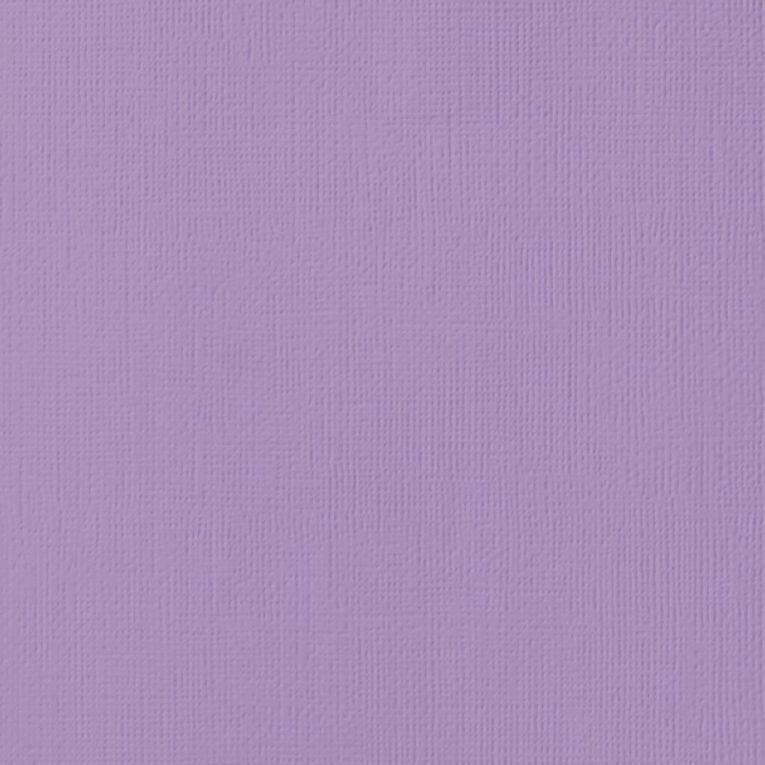 American Crafts Cardstock Textured Lavender 12in x 12in, , hi-res