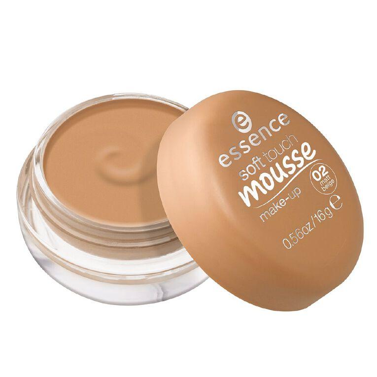 Essence Soft Touch Mousse Make-up 02, , hi-res
