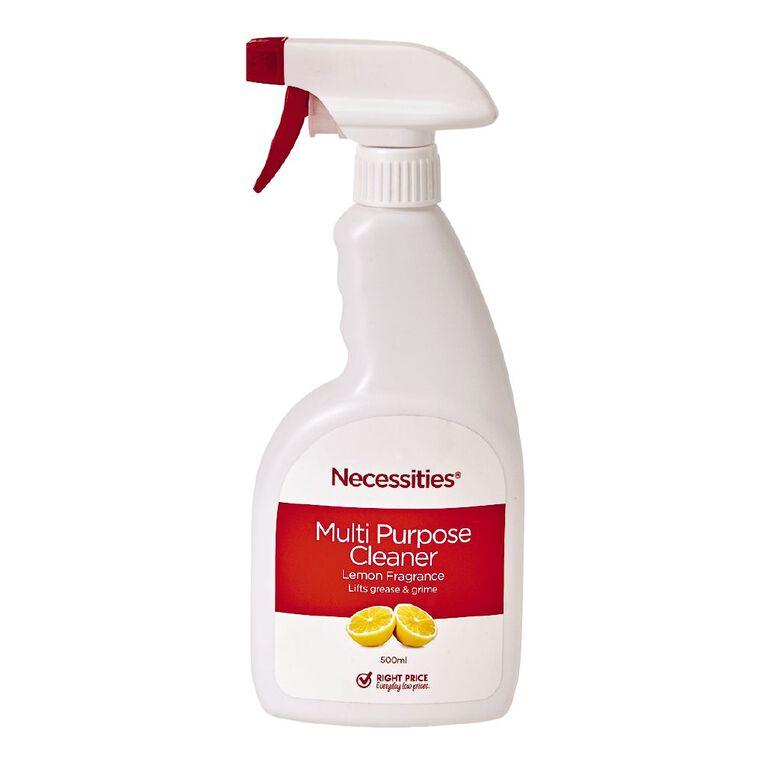Necessities Brand Multi Purpose Cleaner Trigger 500ml, , hi-res