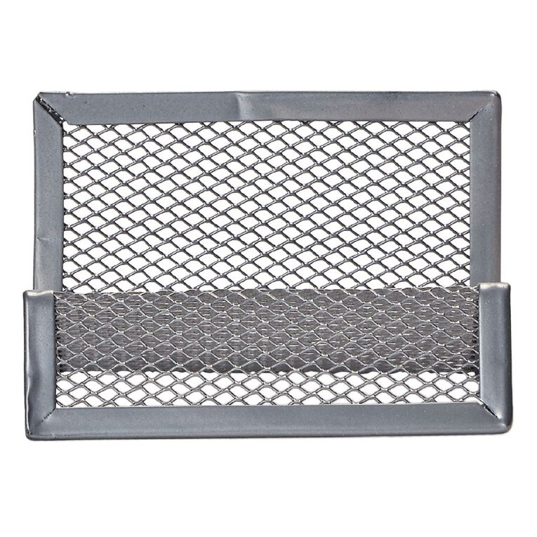 Impact Mesh Business Card Holder Pewter, , hi-res image number null