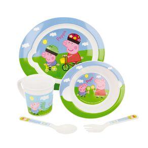 Peppa Pig Zak! Licensed Peppa Pig 5pc Feeding Set