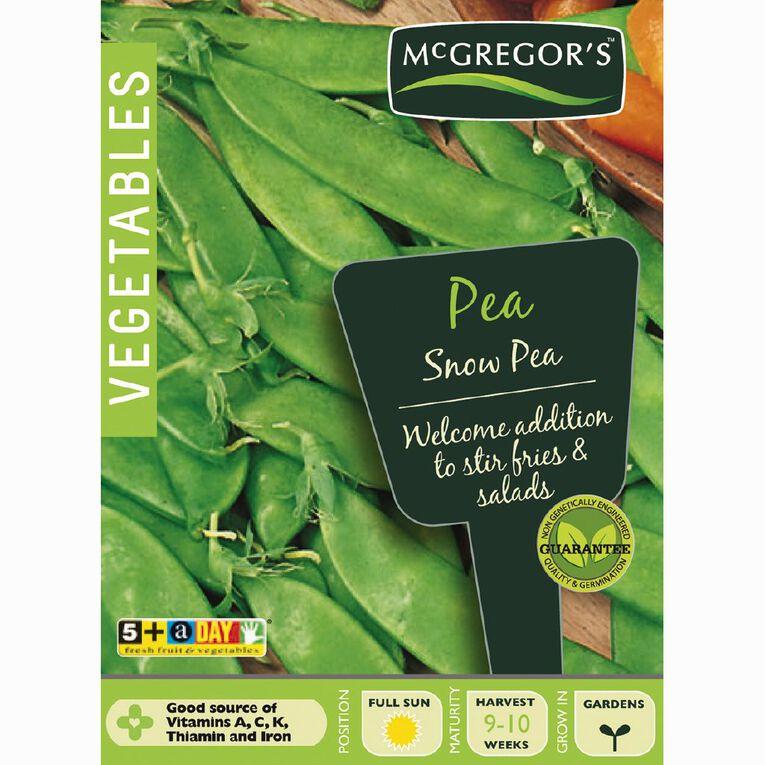 McGregor's Snow Pea Vegetable Seeds, , hi-res