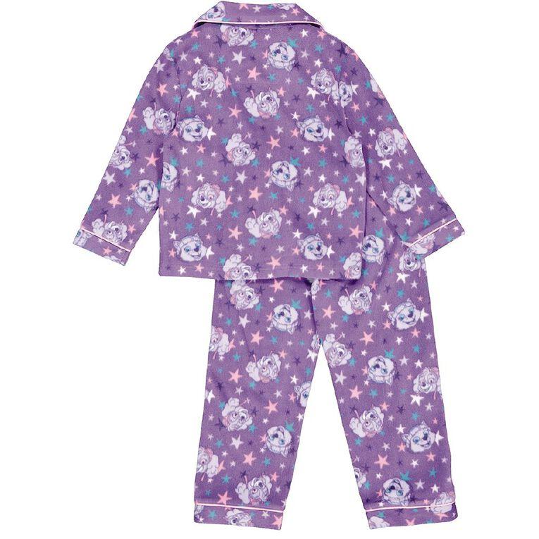 Paw Patrol Girls' Fleece Pyjama, Purple, hi-res