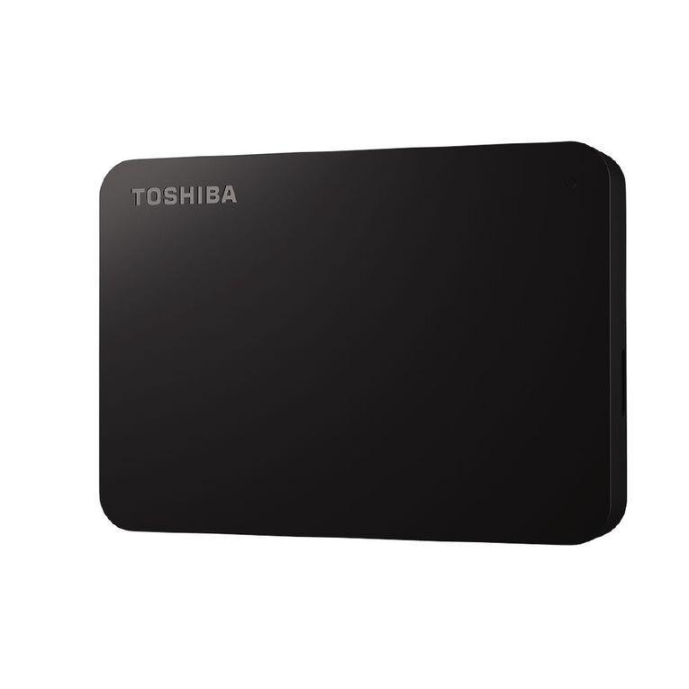 Toshiba Canvio Basics A3 USB-C Portable Hard Drive - 4TB, , hi-res